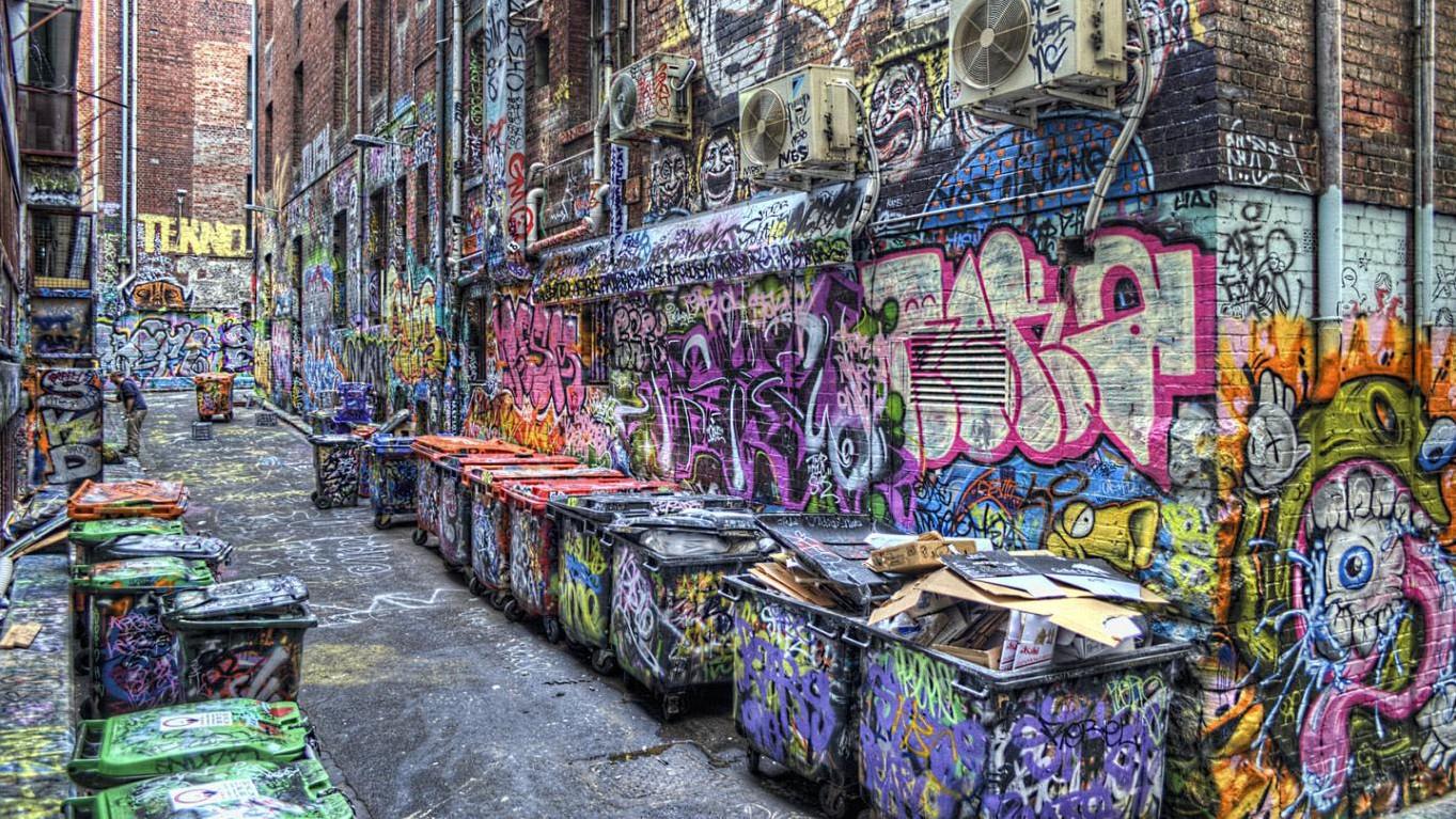 бизнес-идея заработка на красивых граффити