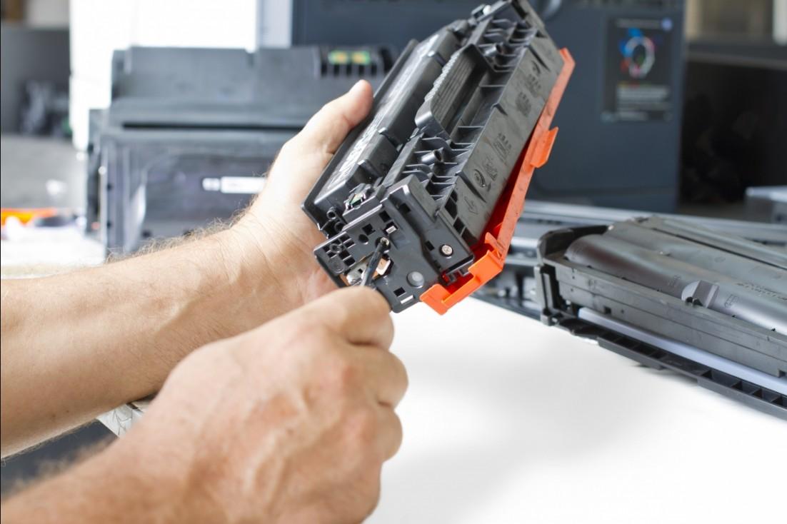 Заправка лазерного картриджа своими руками видео фото 183