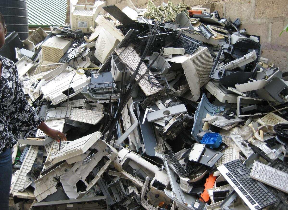 бизнес на открытии свалки электроники