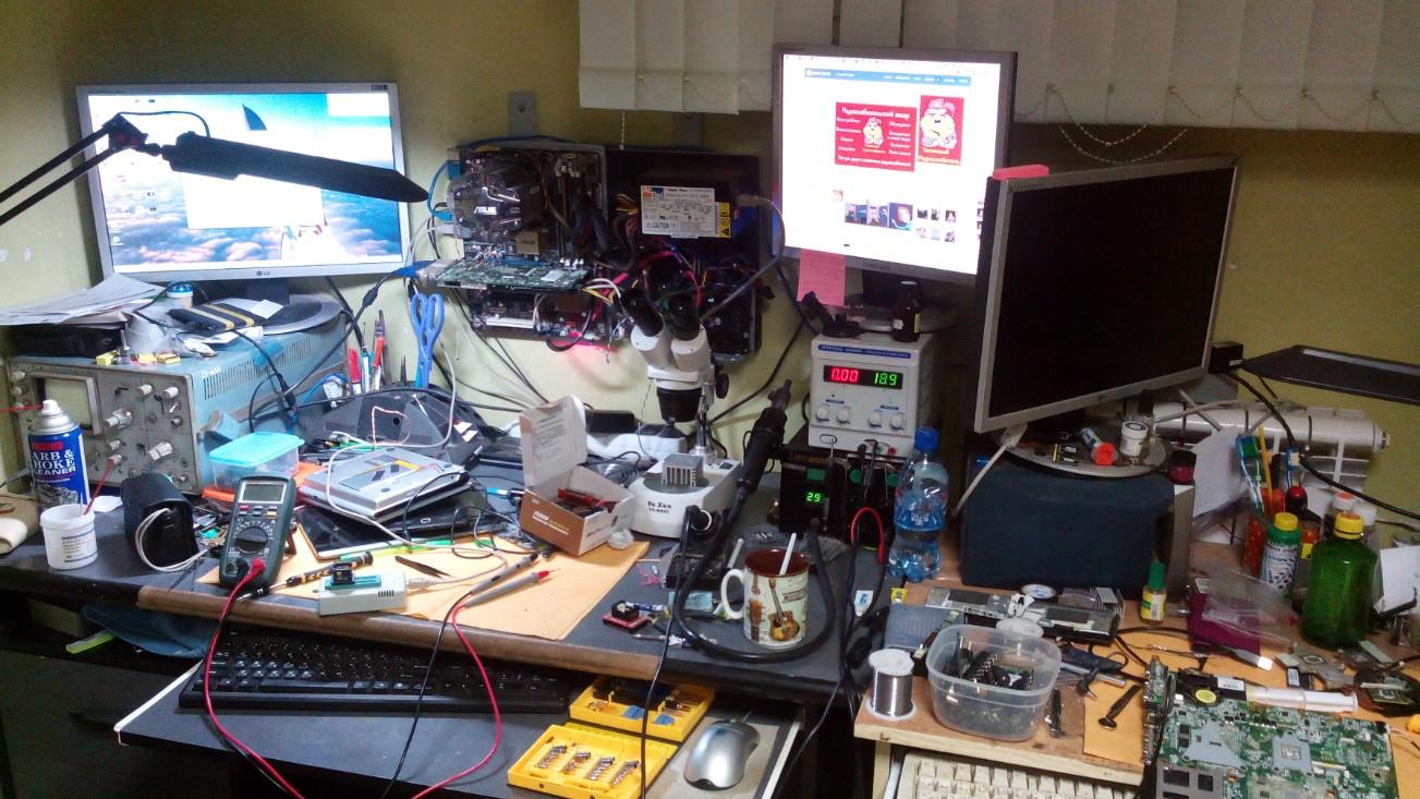 Всё о ремонте и обслуживании компьютеров своими руками