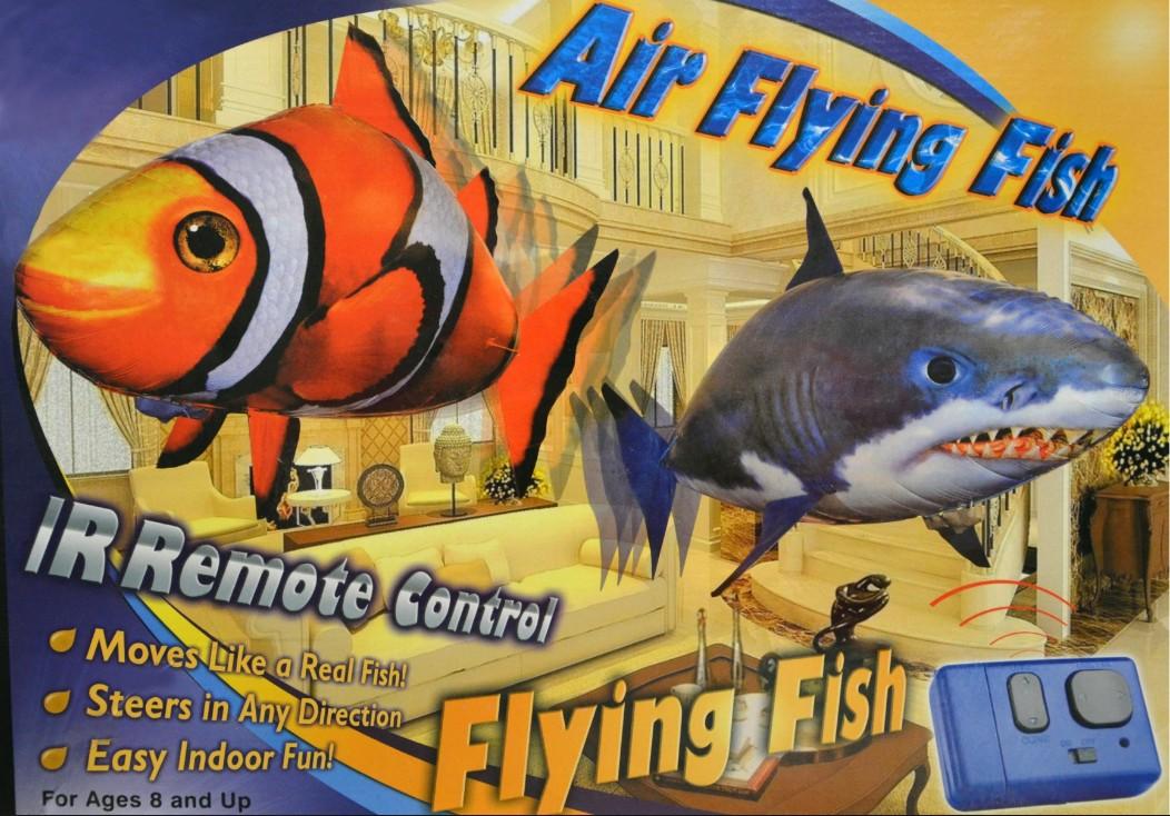 как организовать продажу летающих рыбок