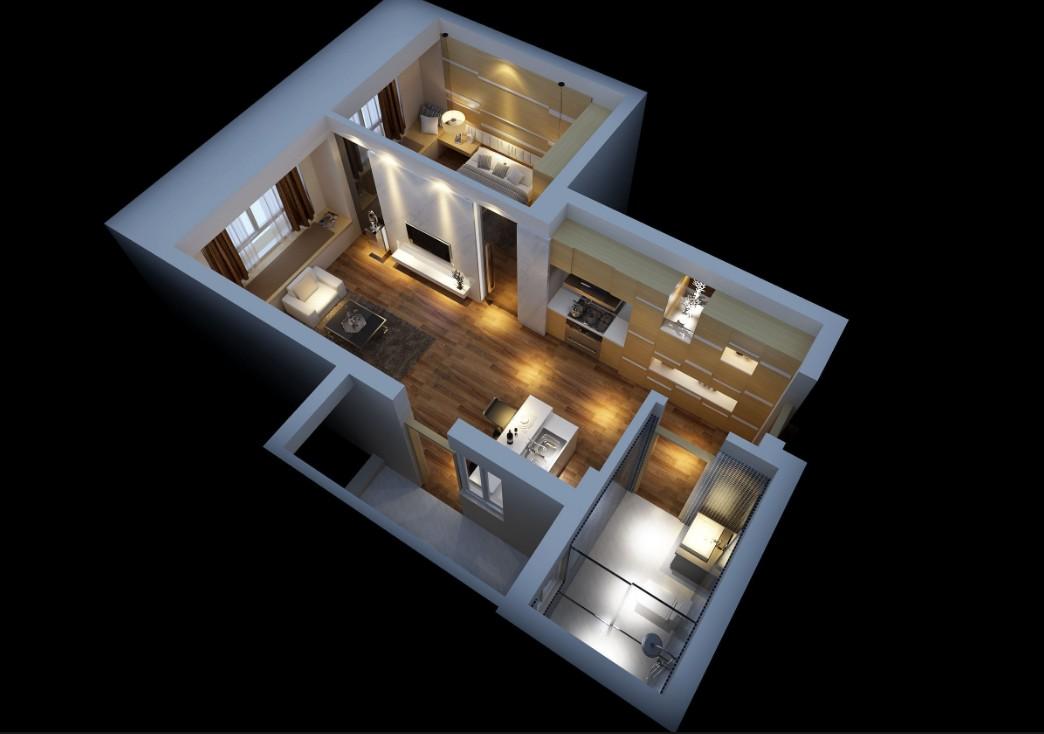 бизнес-идея заработка на 3D интерьере