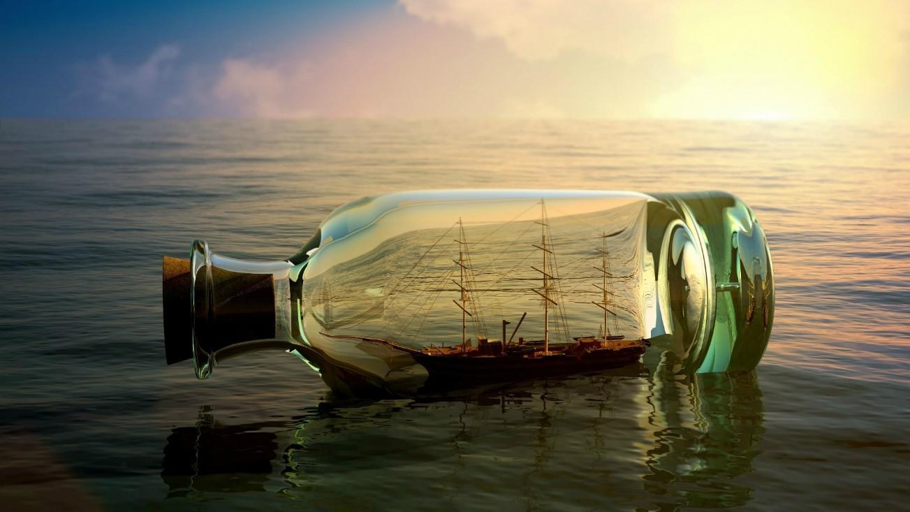 бизнес-идея изготовления кораблей в бутылке