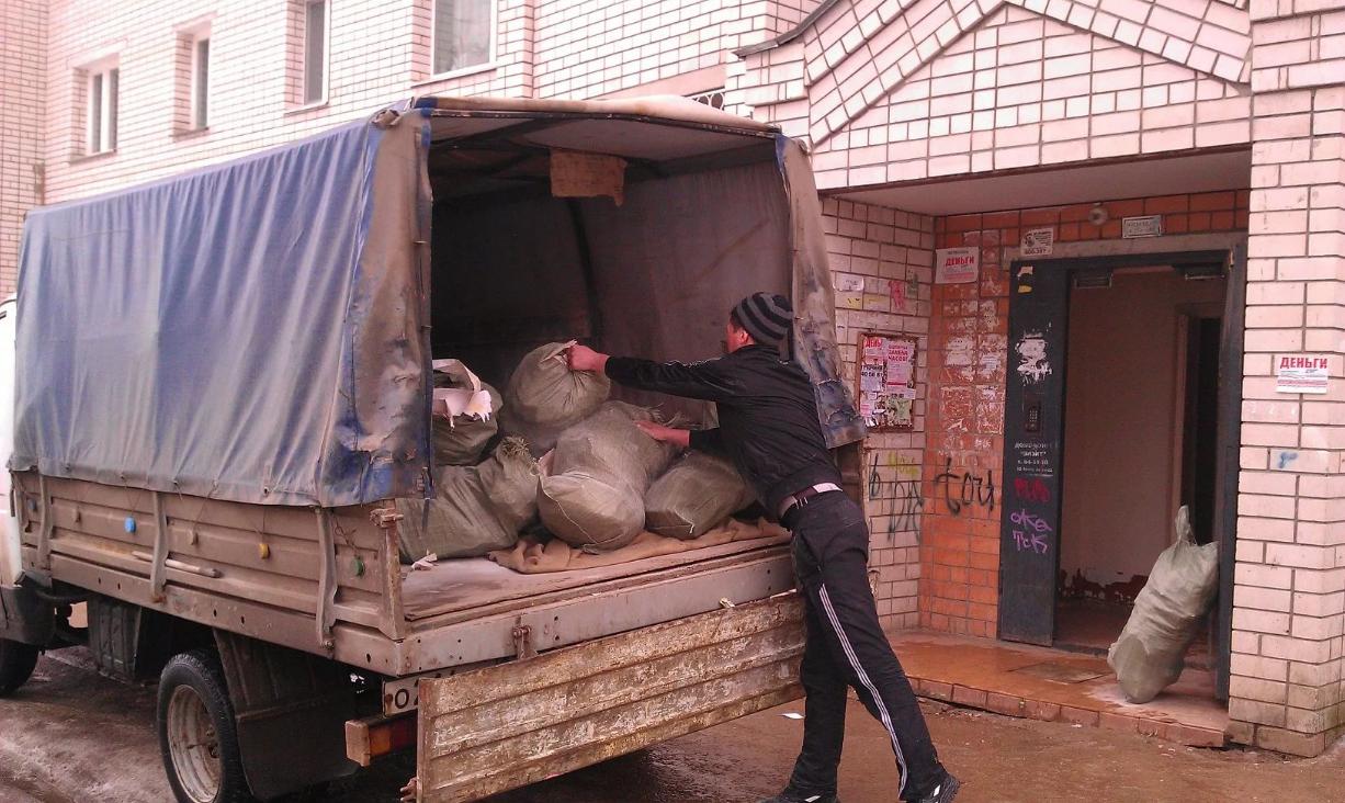 бизнес по вывозу мусора из квартир