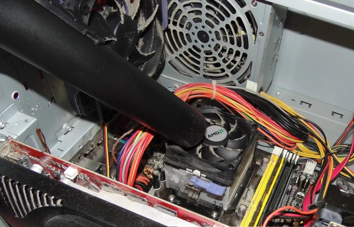 бизнес по чистке компьютеров от пыли