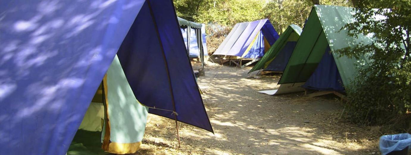 бизнес-идея открытия палаточного городка