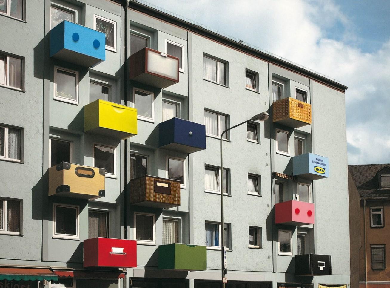 бизнес по размещению рекламных баннеров на балконах жилых домов