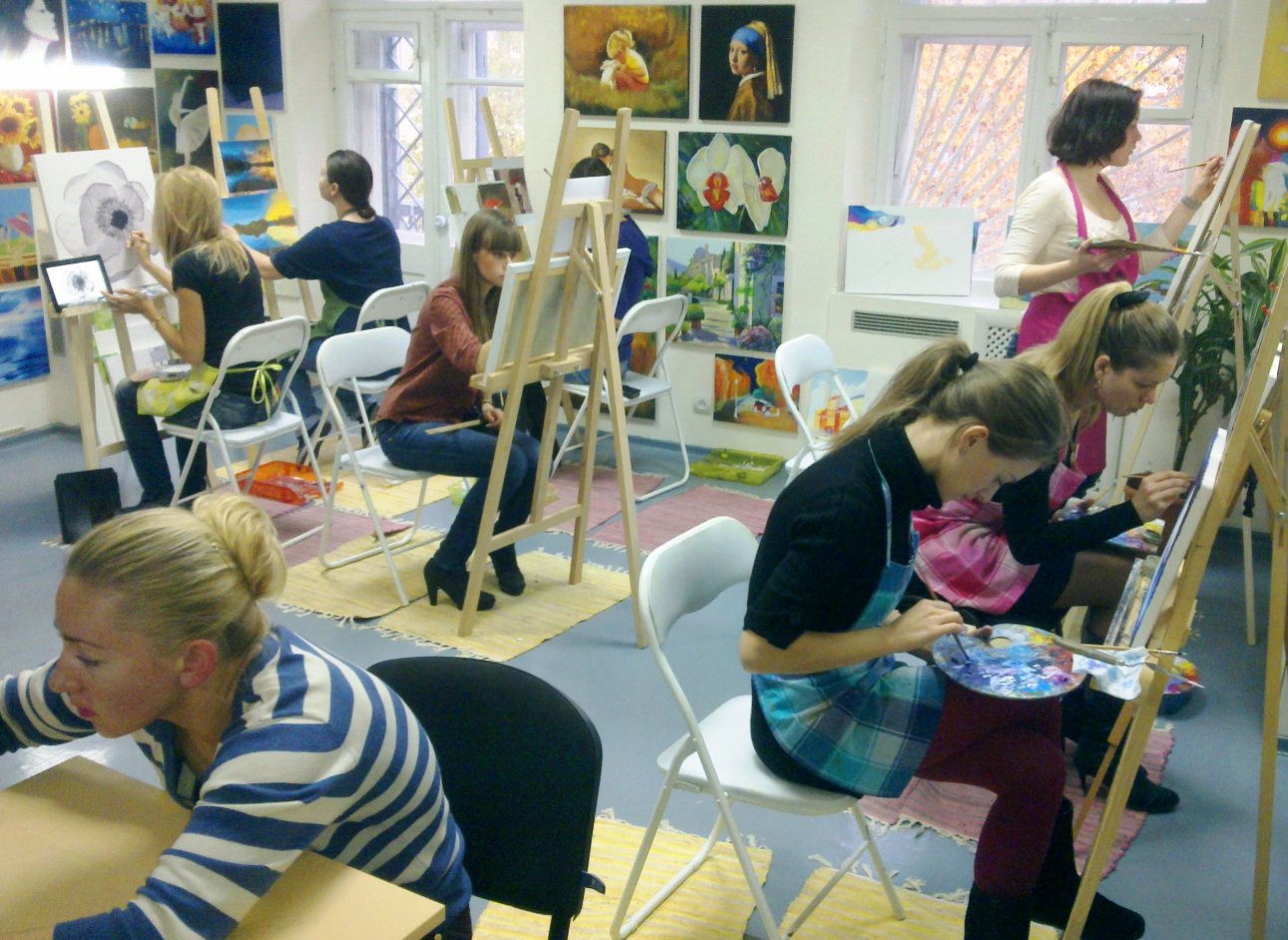 бизнес-идея открытия студии живописи