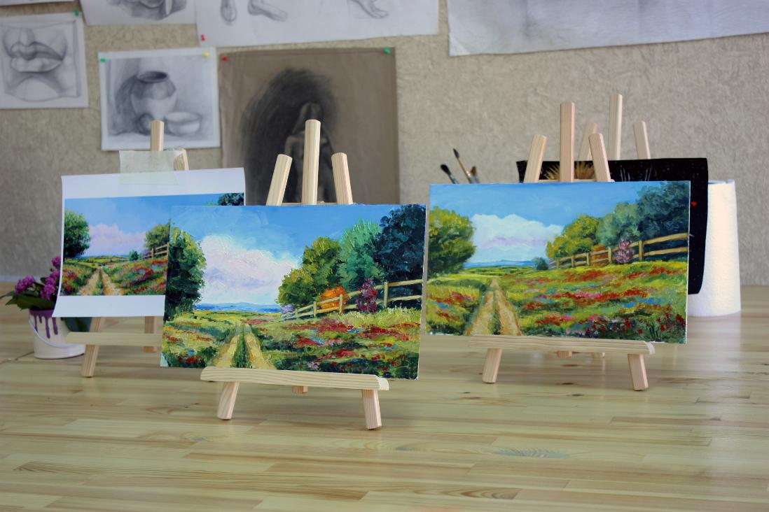 бизнес на открытии студии живописи