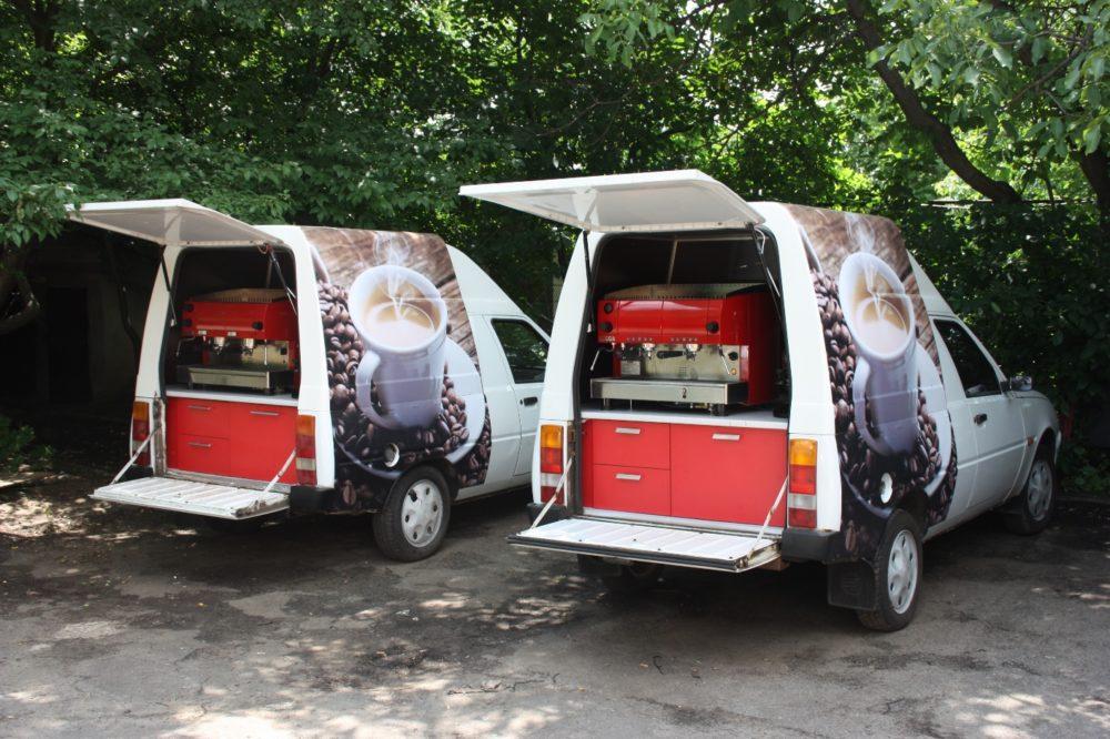 Нюансы бизнеса кофейня на колесах