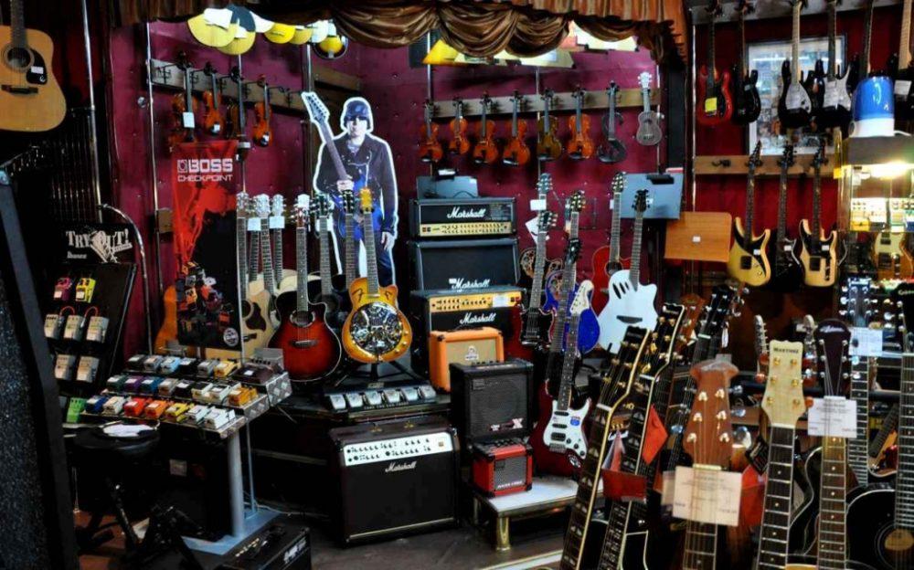 Какие музыкальные инструменты продавать